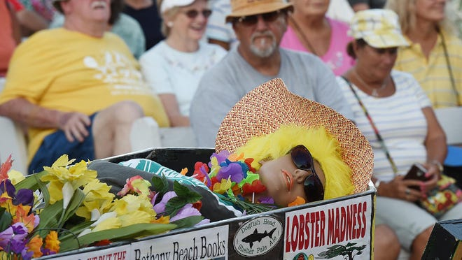 Bethany Beach held their 30th Annual Jazz Funeral on the boardwalk and bandstand to close out the summer season on Monday September 7th with a casket and weeping mourners walking before hundreds of visitors getting a last look before heading home.