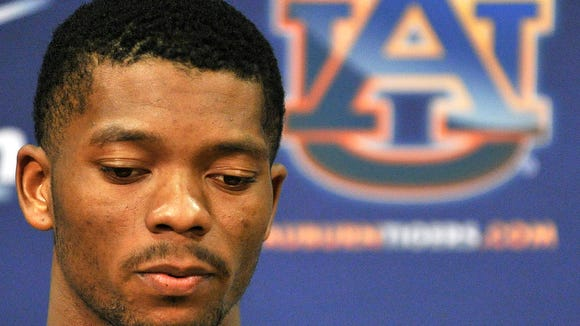 Auburn quarterback Nick Marshall spoke publicly for the first time since his July 11 citation for possession of marijuana (less than 1 ounce) and illegal window tint during a traffic stop in Reynolds, Georgia.