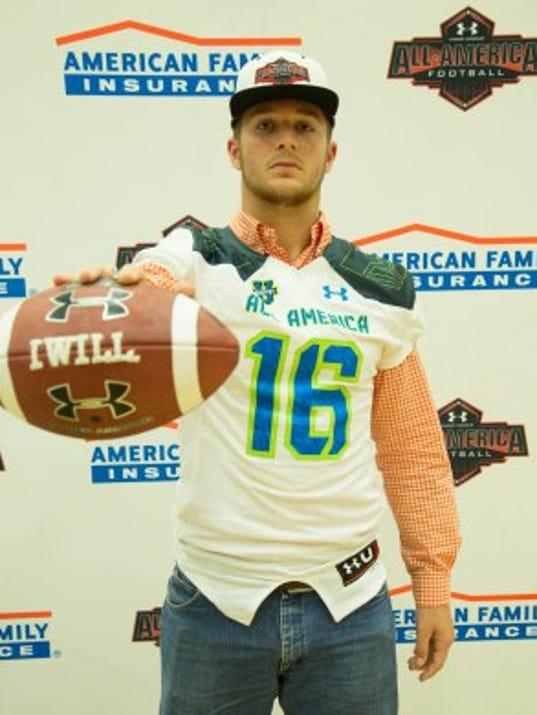 Landon Rice Under Armour All-American