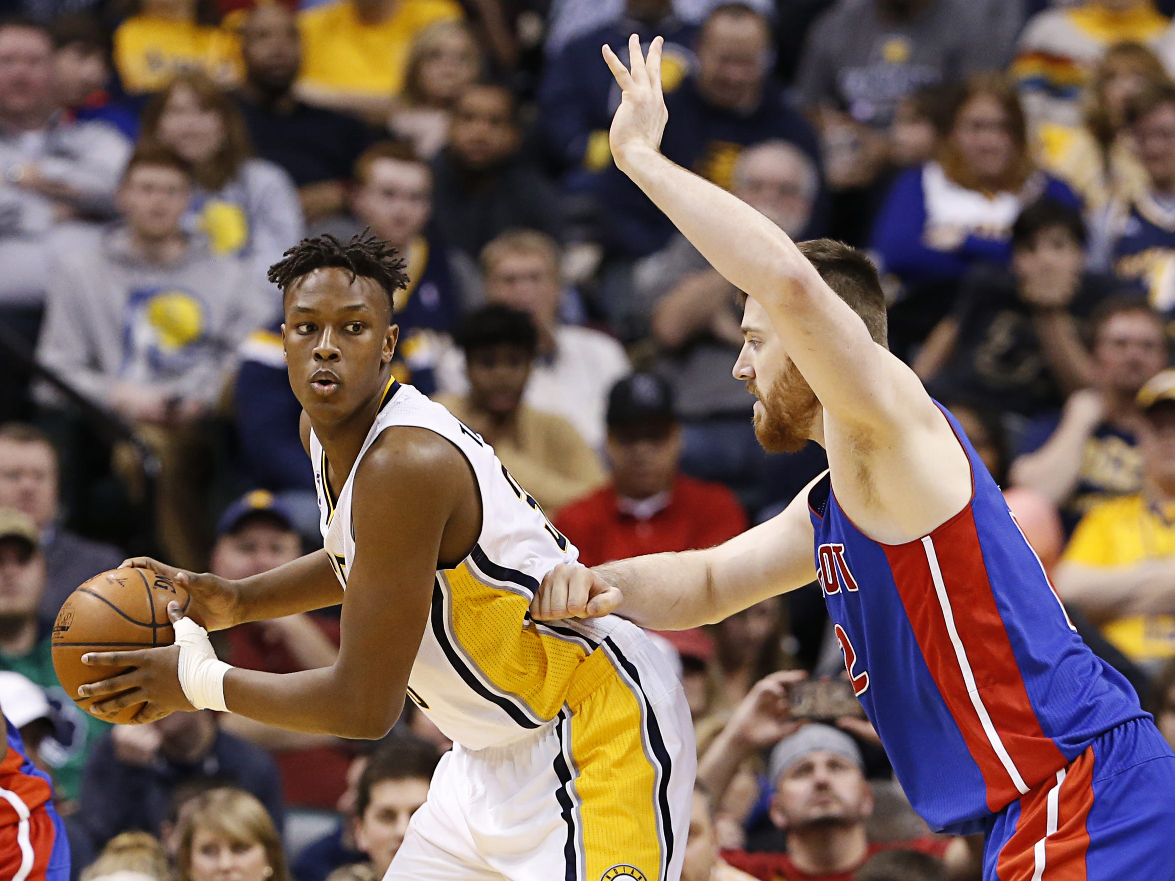 Myles Turner has exceeded many fans' expectations in his rookie season.
