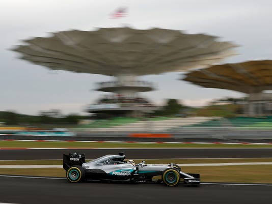 AP MALAYSIA F1 GP AUTO RACING S CAR MYS