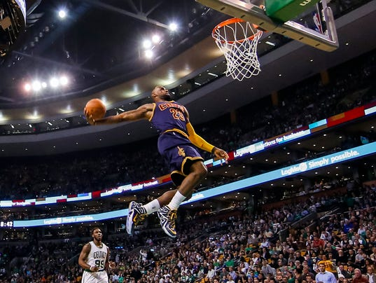 LeBron James leads Cavaliers into playoff stride as they ...