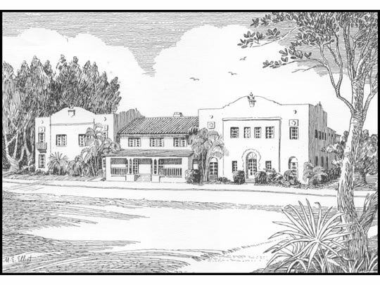 The Seminole Inn in Indiantown, by M.E Elliot, one