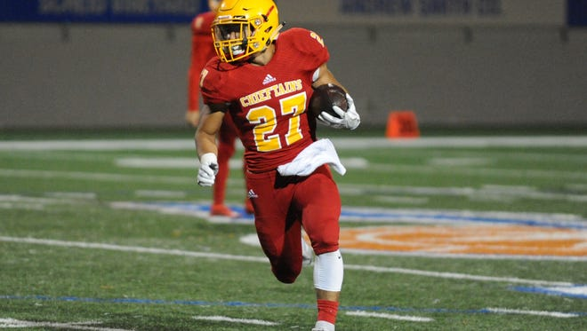 Palma High's Emilio Martinez is approaching 1,000 rushing yards for the season.