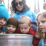 Hudson Highlands Nature Museum Maple Sugar Tours are held every weekend from 10:30 a.m. to 3 p.m. through March 22.