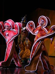 Gingerbread cookies of the Cirque Dreams Holidaze shows are also scheduled to celebrate Hanukkah, Thanksgiving and New Year's Eve.