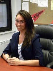 Assistant Principal of Glen Rock High School, Tina Bacolas.