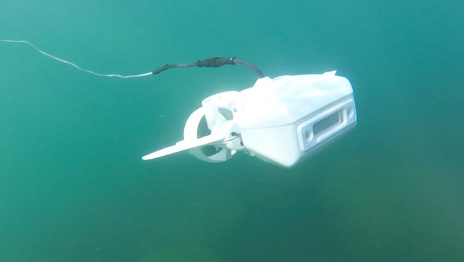 The Fathom One is an underwater drone with high-definition camera.
