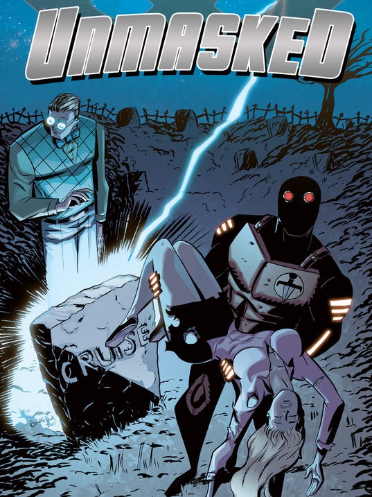 Unmasked 3 cover