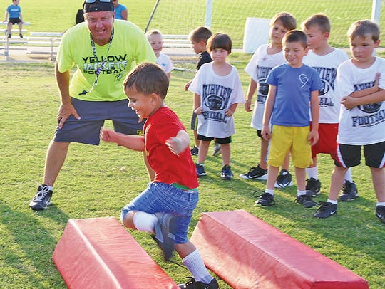The free Fairview Youth Football Camp is coming up