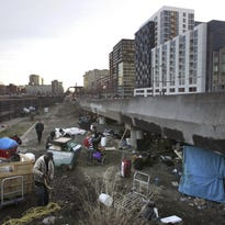 Letter: The homeless willing to take it are given help