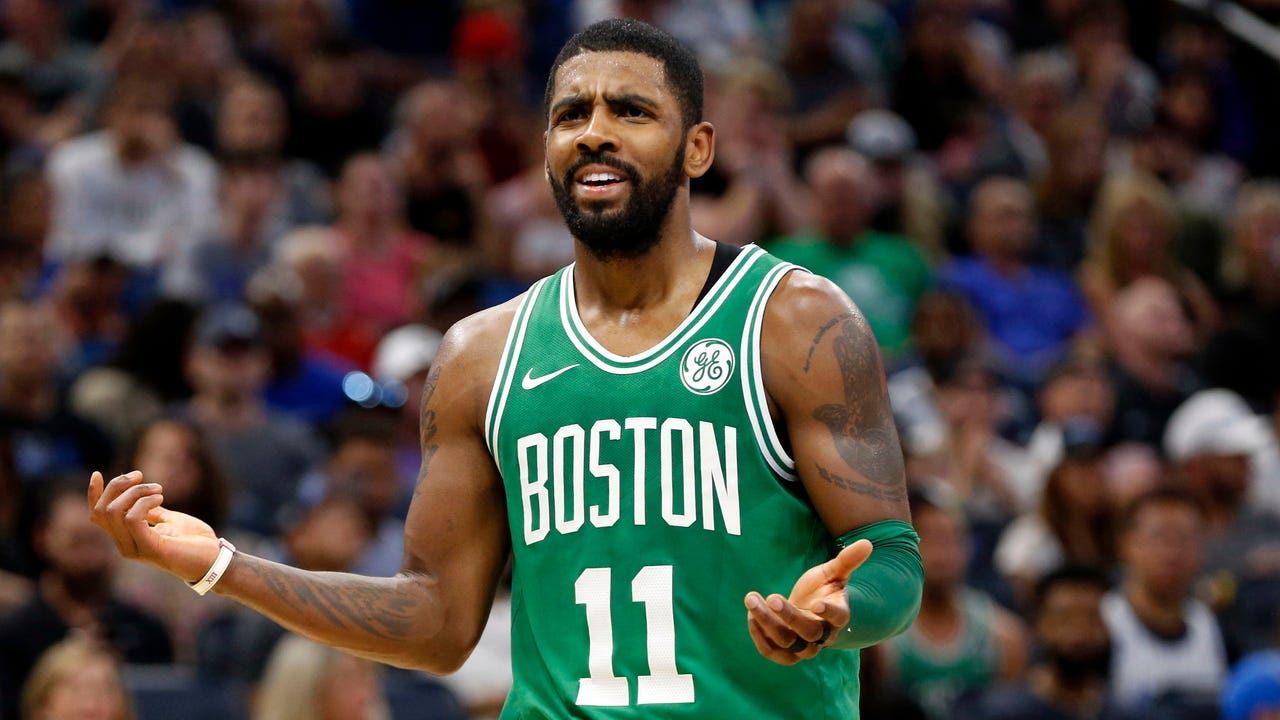 Irving has minor fracture after elbow to face