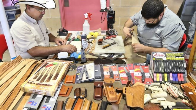 The Saxet Gun Show will be from 9 a.m. to 5 p.m. Saturday, Aug. 12 and Sunday, Aug. 13 at the Richard M. Borchard Regional Fairgrounds, 1213 Terry Shamsie Blvd., Robstown. Featuring a huge variety of firearms, accessories, ammunition, knives, tactical gear, hunting and target sports products. Cost: $5 admission; free parking. Information: 361-289-2256 or www.rmbfairgrounds.com/saxet-gun-show.