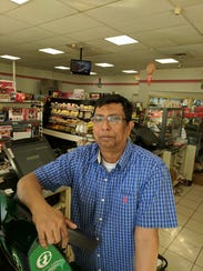 Totowa resident Md. Luthful Bari saw snow for the first