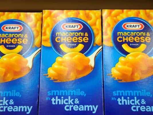 FILE - Kraft And Heinz Will Merge To Create The Kraft Heinz Company