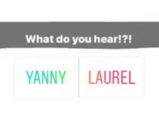 """On Tuesday, the internet, offices across America and even researchers spent their time debating whether a sound clip uttered the word """"Yanny"""" or """"Laurel."""""""