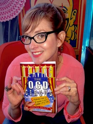 """Howell business owner Kirsten Pagacz penned her memoirs and more in """"Leaving the OCD Circus."""""""