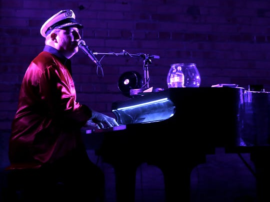 Dan Rafferty of NEW Piano Guys performs during a 2017 show at Gather on Broadway in Green Bay. He's doing Facebook Live shows he's calling Play It Again, Dan from his De Pere living room during the coronavirus outbreak.