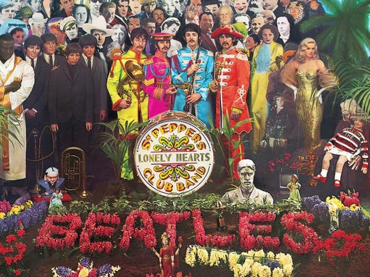 """Sgt. Pepper's Lonely Hearts Club Band,"" The Beatles"