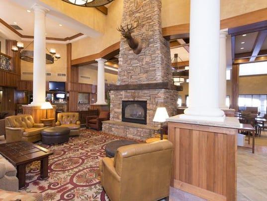 The Lodge interior