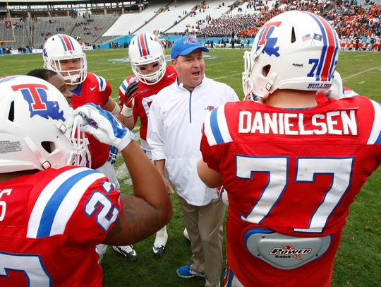 Louisiana Tech coach Skip Holtz said cost of attendance