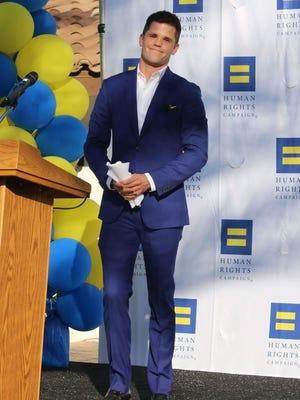 Visibility Award Recipient actor Charlie Carver.