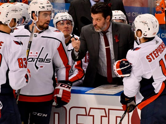 Capitals assistant coach Lane Lambert served in the same role with the Predators from 2011-14.