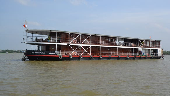 Unveiled in September 2012, Avalon Waterways' 32-passenger
