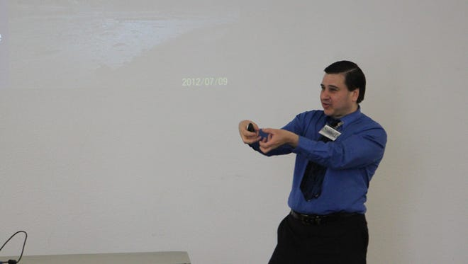 David Torres of the New Mexico Environment Department discusses source water.