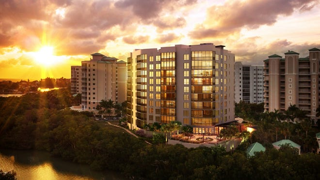 London Bay'sGrandview at Bay Beach luxury high-rise tower will be built on the southern tip of Fort Myers Beach.