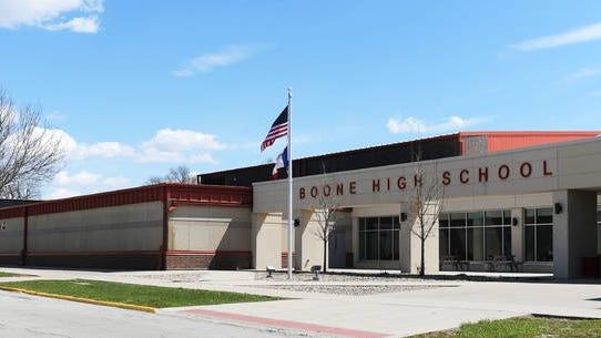 Boone High School building. File photo