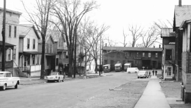 Lower Cherry Street, 1958