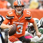 Josh McCown released by the Cleveland Browns