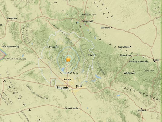 4.1-magnitude earthquake Arizona