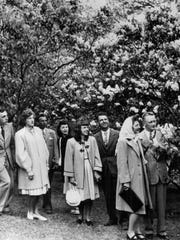 Lilac Sunday (forerunner to the Lilac Festival), June 2, 1947