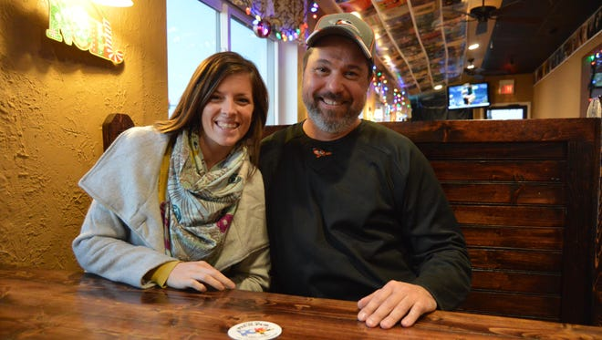 Nadine Horsey and Steve Hoffman, of the Pit & Pub in Ocean City.