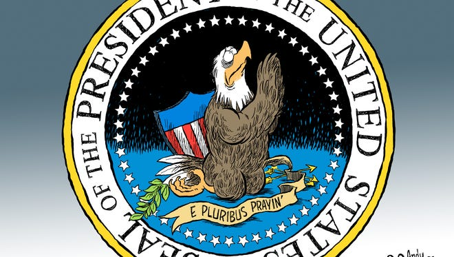 Presidential Seal commentary from Andy Marlette