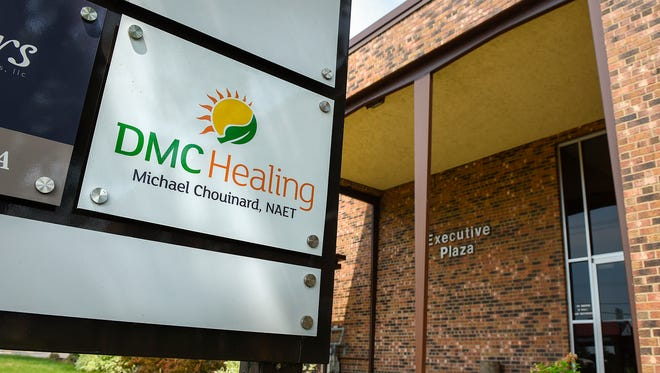DMC Healing, operated by Michael Chouinard, is shown Friday, June 15,  at 1011- Second St. N, St. Cloud.
