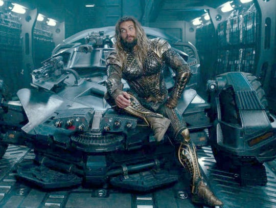 """Jason Momoa's Arthur Curry, shown here in """"Justice"""