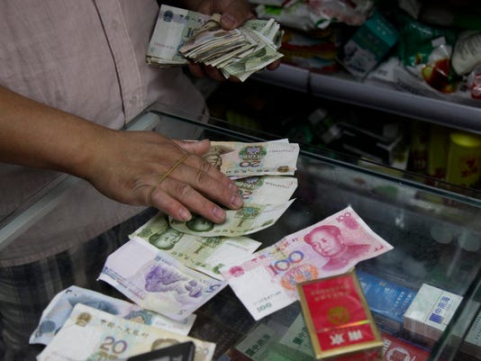 Analysis: Currency tumult marks China's free market growing pains