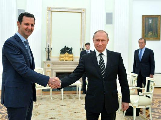EPA RUSSIA SYRIA DIPLOMACY POL DIPLOMACY RUS MO