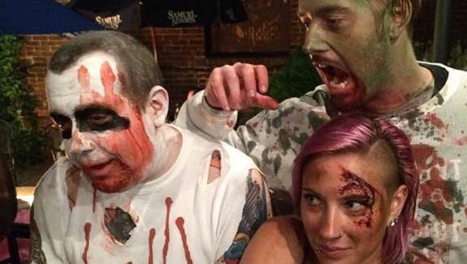 Brittney on Fire will bring her annual Zombie Party on Oct. 2 to the Court Tavern in New Brunswick.