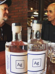 Tom Adams, owner of Seven Troughs Distilling, and Tom Young, owner of Great Basin Brewing, talk about their new collaboration project, Argentum Gin.