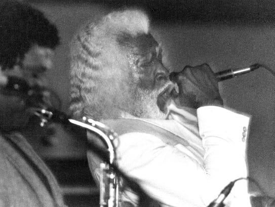 New Orleans blues singer Buddy Ace and his band perform