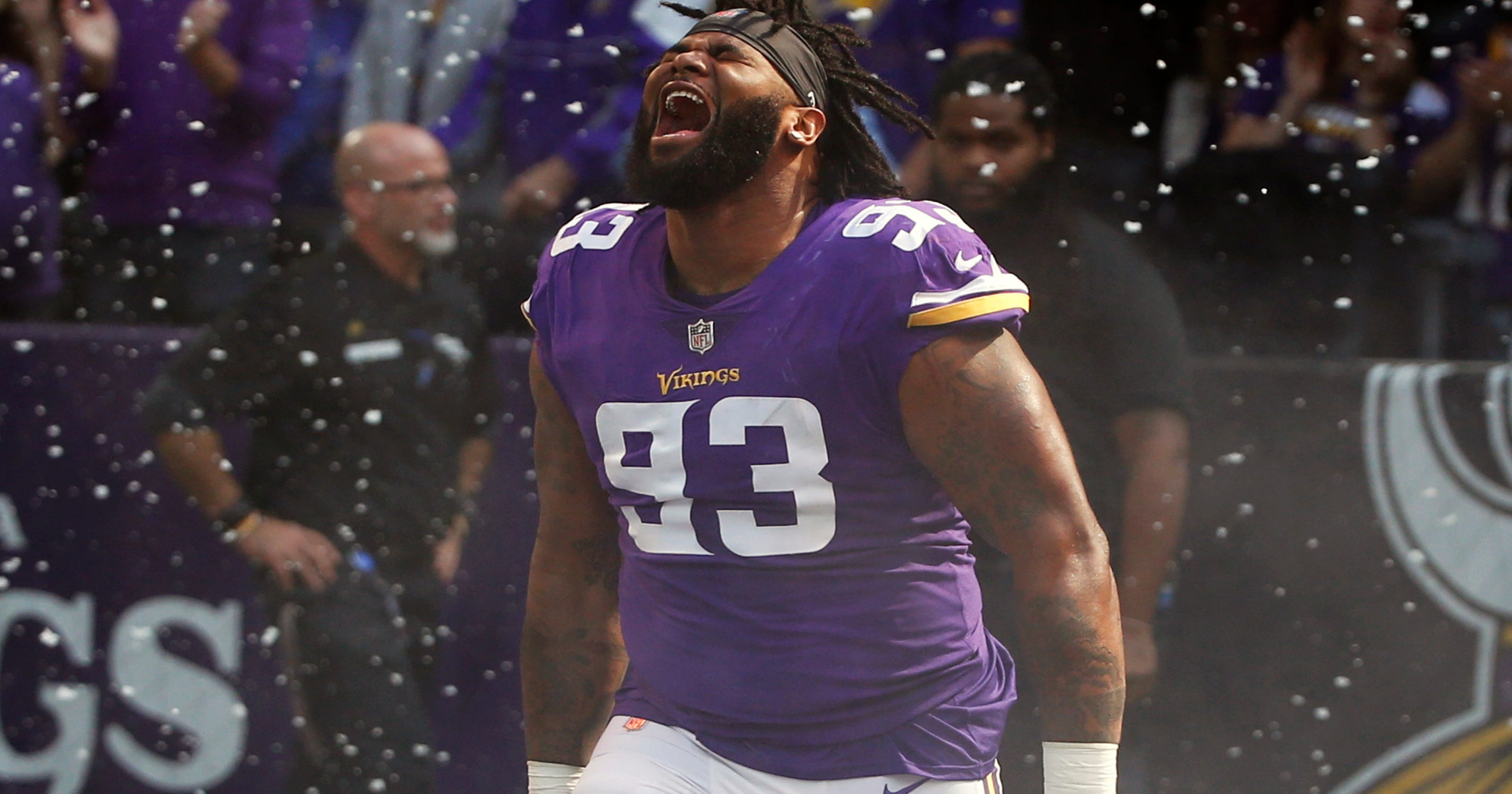 91d83dd4b Vikings DT Richardson 'all business' against old team Jets