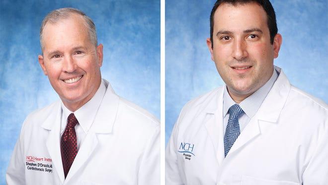Dr. Stephen D'Orazio, left, and Dr. Brian Solomon, right.