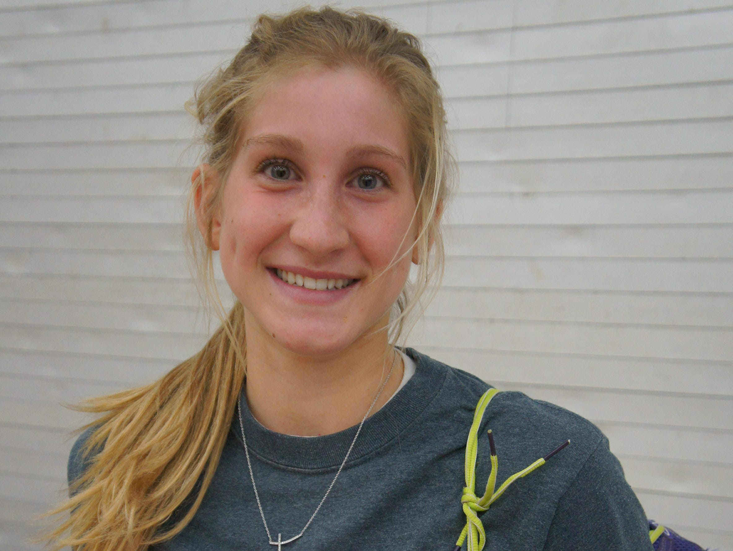 Marshfield senior Martha Kupfer is a three-sport athlete for the Tigers, owns three school records in track and is gunning for at least one more this season.