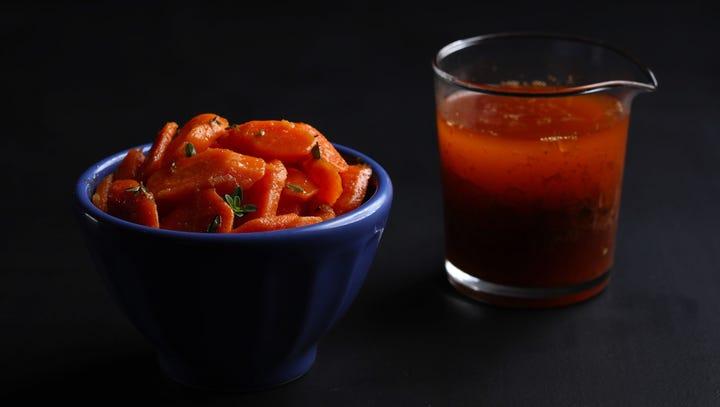 Smoky sherry vinaigrette is the ideal foil for super-fresh