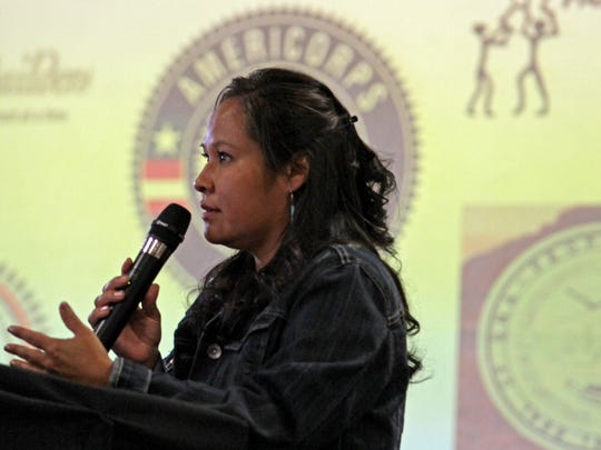 Renae Begay, prevention specialist for the San Juan