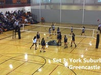 Greencastle-Antrim never seemed to get its offense going in a straight-set loss to York Suburban on Saturday afternoon.